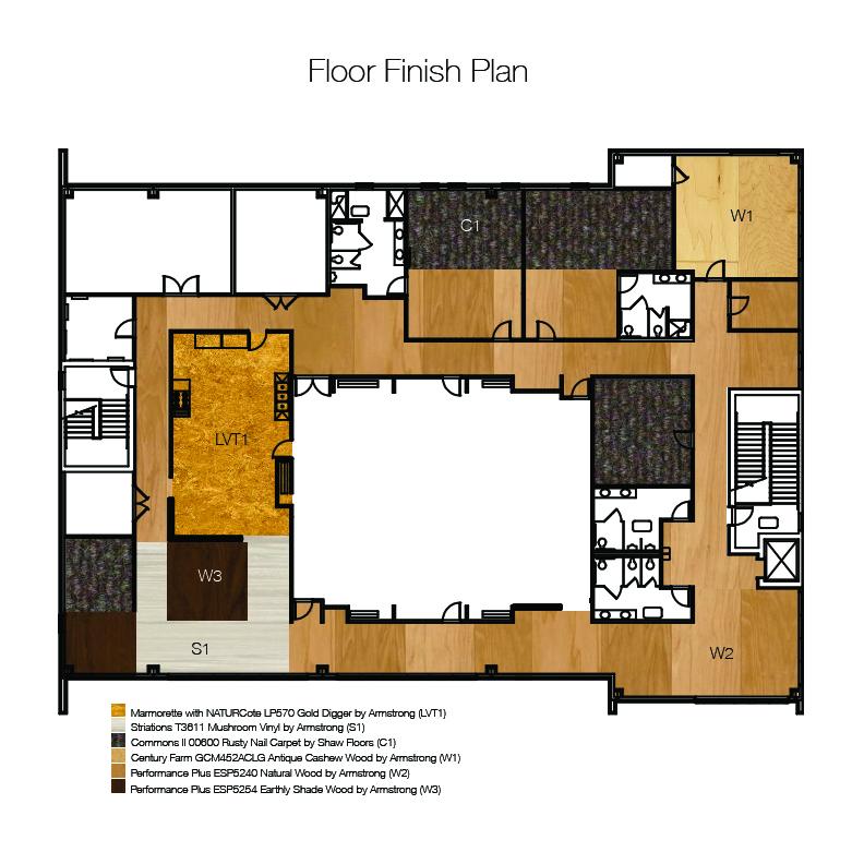 finish plan, flooring