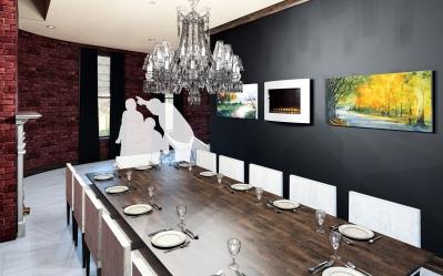 Rendering - Dining Room
