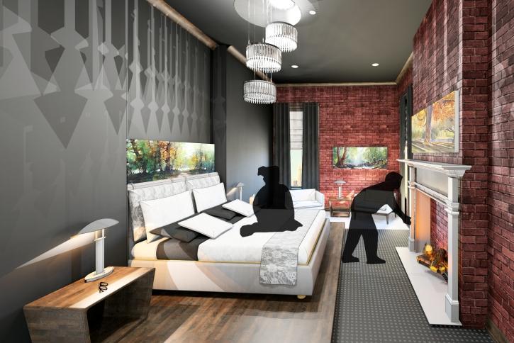 Rendering - Master Bedroom